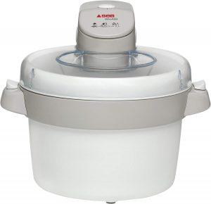 Seb IG500131 Sorbetière Électrique Gelato Machine à Glace Sorbet Crème Glacée Yaourt Capacité 1L